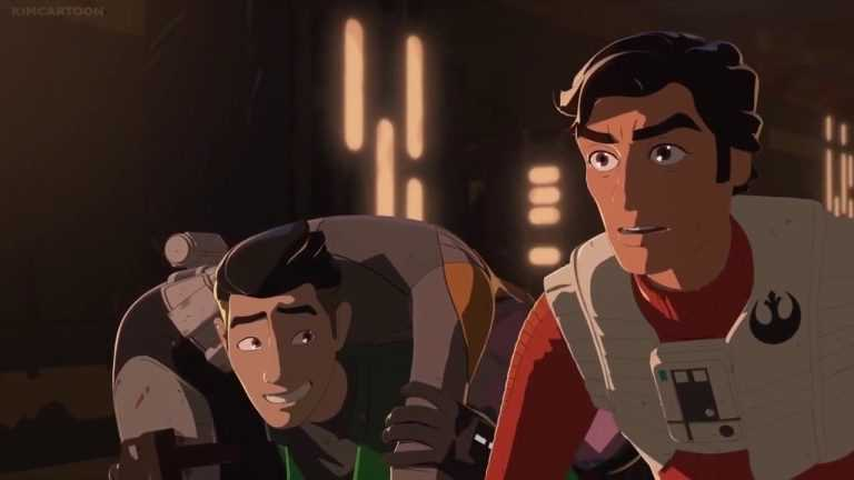 Oscar Isaac, Christopher Sean in Star Wars Resistance