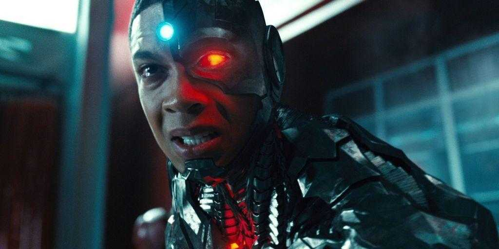 Cyborg (Ray Fisher) - Zack Snyder's Justice League