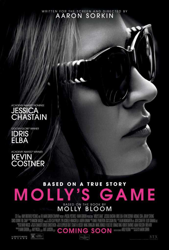 Molly's Game_2018_Jessica Chastain_Idris Elba_Kevin Costner