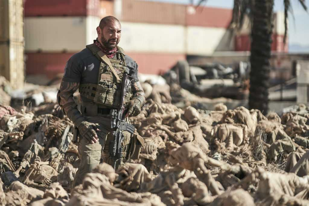 Scott Ward (Dave Bautista) in Army of the Dead