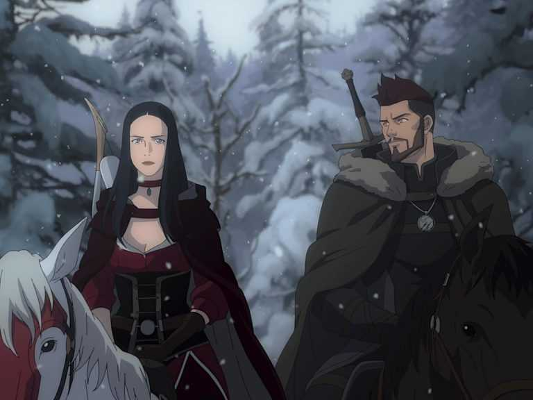 """Fotogramma di: """"The Witcher: Nightmare of the Wolf"""""""