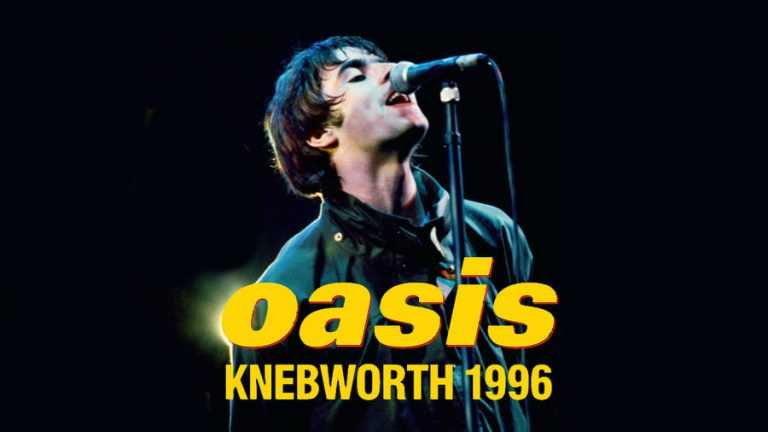 OASIS: Knebworth 1996 poster orizzontale